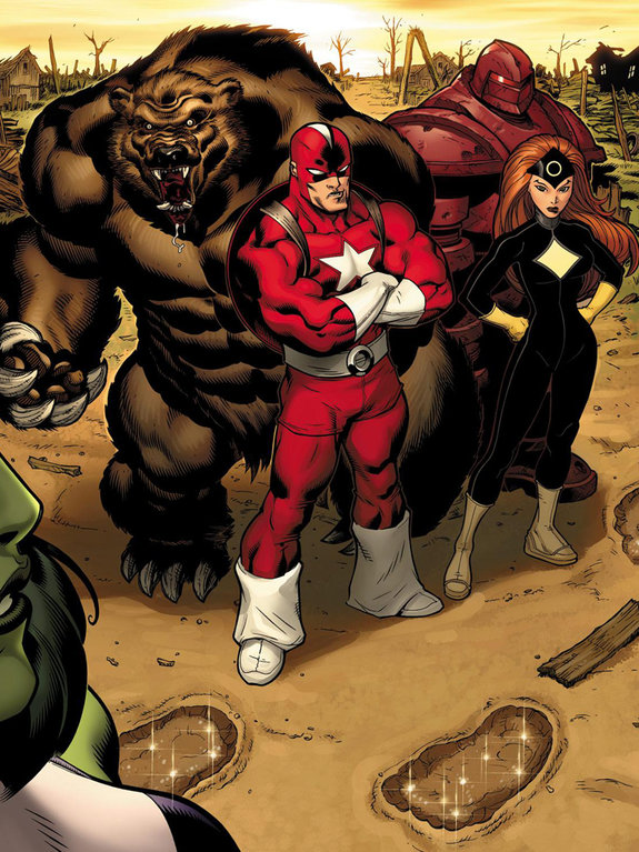 Комикс Hulk №1 / художник: Эд МакГиннесс