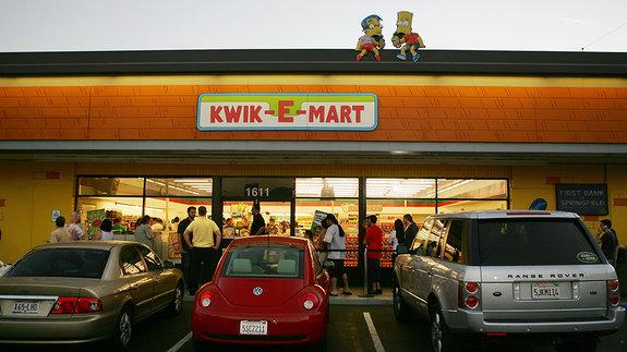 Магазин «Наскорую руку» (Kwik-E-Mart) / Фото: Getty Images