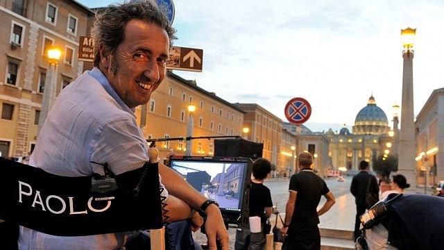 Паоло Соррентино насъемках сериала «Молодой Папа»