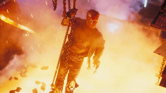 Кадр из фильма «Терминатор2»