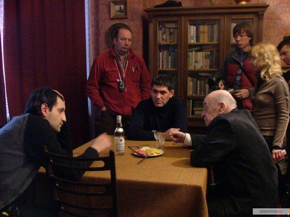 Алексей Попогребский на съемках фильма «Простые вещи»
