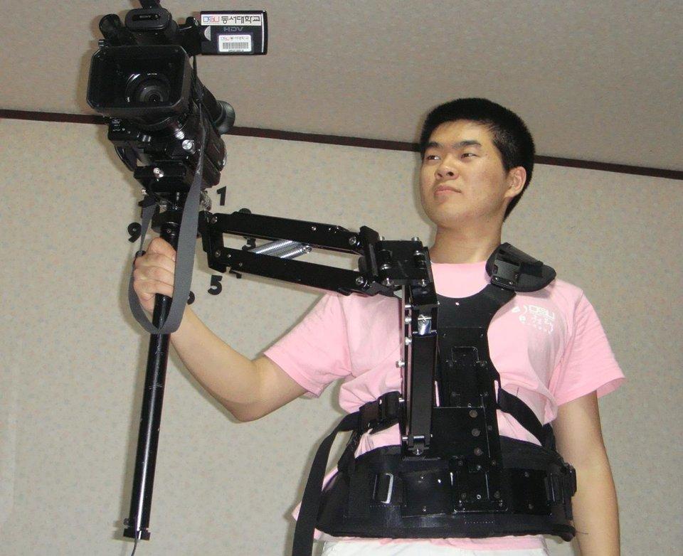 Игорь Ким во время обучения в киношколе