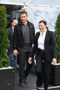 Джейк Джилленхол и директор российского подразделения Disney Марина Жигалова-Озкан