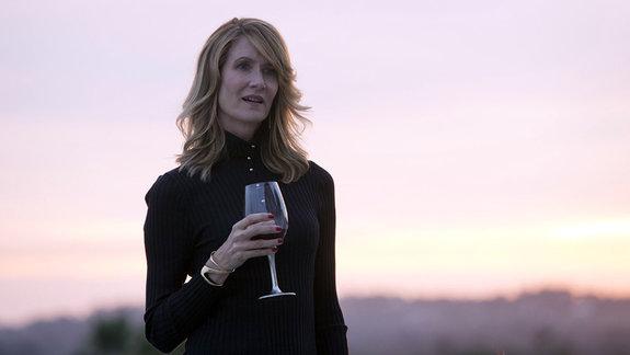 Лора Дерн в сериале «Большая маленькая ложь» / Фото: HBO