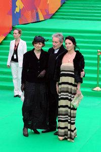 Вениамин Смехов с супругой и дочерью Аликой Смеховой