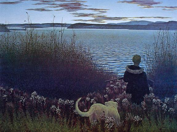 «Мальчик, собака и река Сент-Джонс»