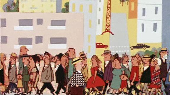 Кадр из фильма Федора Хитрука «История одного преступления»