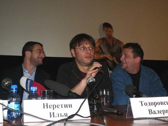Илья Неретин, Валерий Тодоровский, Андрей Кавун
