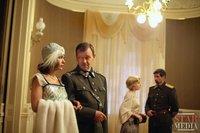 Съемки сериала «Волчье солнце»: Екатерина Климова и Ян Фрыч
