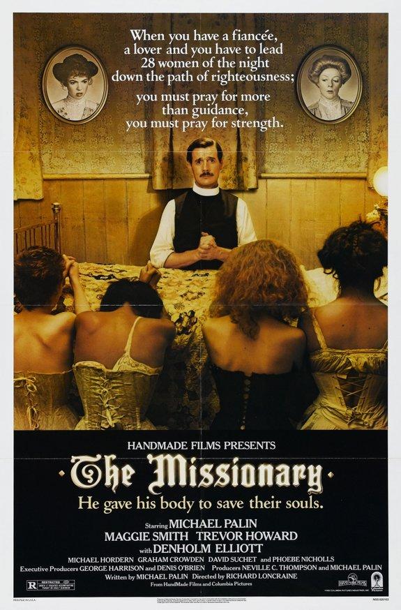 Постер фильма «Миссионер»