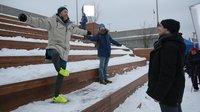 Кадр со съемок фильма «Мифы о Москве»