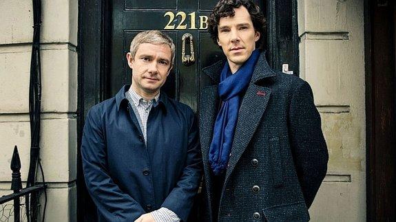 Шерлок» вернется в 2015 году в рождественском спецвыпуске