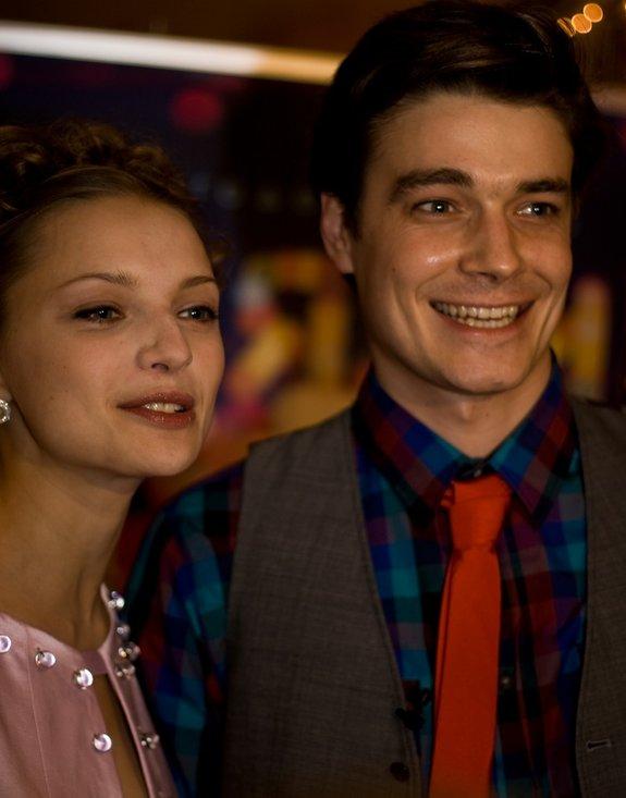 Максим Матвеев и Екатерина Вилкова