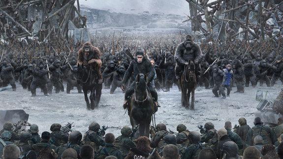 «Планета обезьян: Война». Премьера дублированного фрагмента