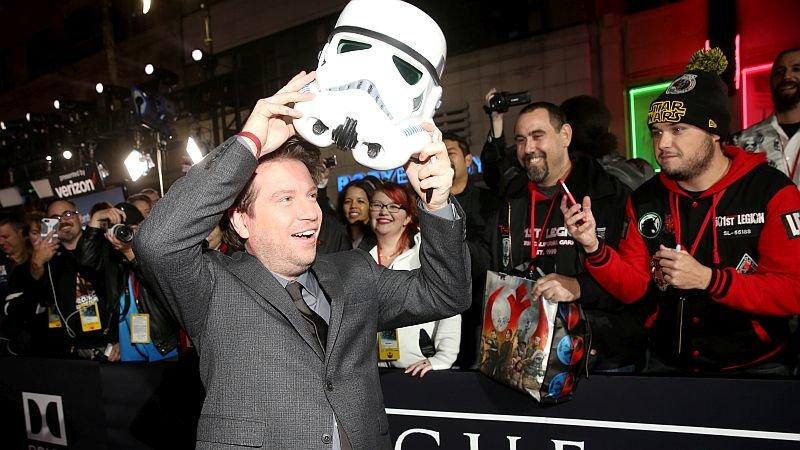 Гарет Эдвардс на премьере «Изгоя-один» / Фото: Getty Images