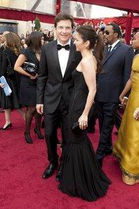 Джейсон Бейтман с женой
