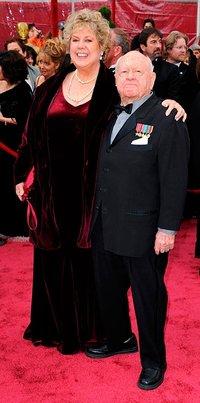 Мики Руни с женой