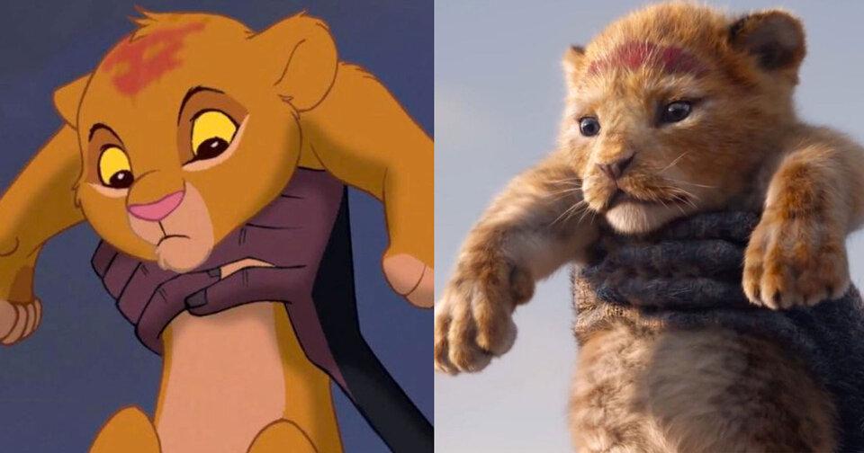 «Король Лев» 1994 и «Король Лев» 2019