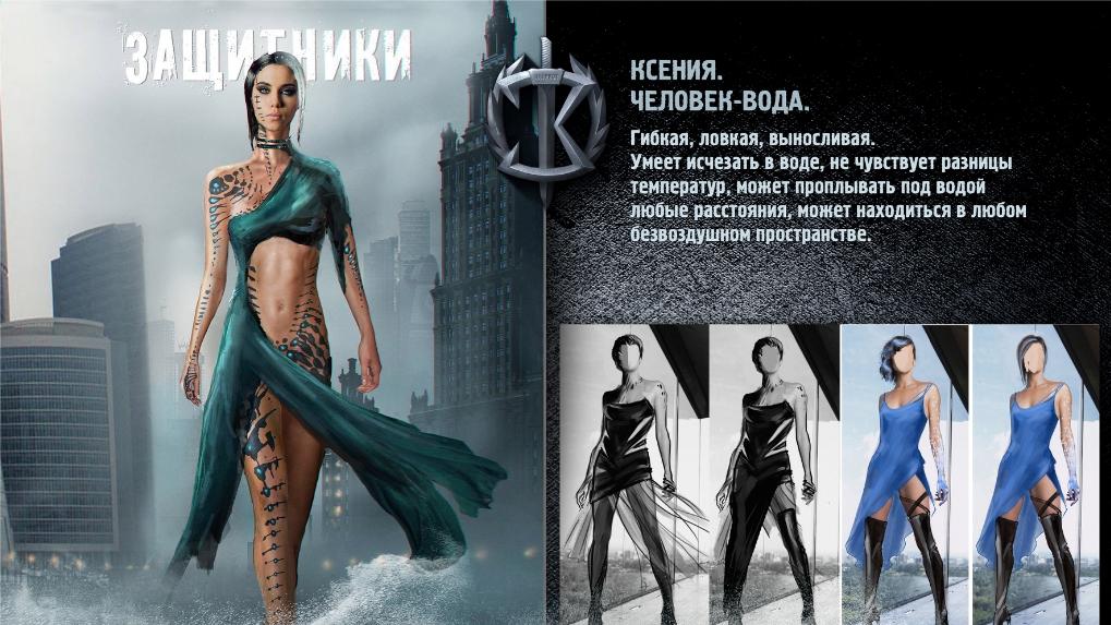 русские актрисы супергерои