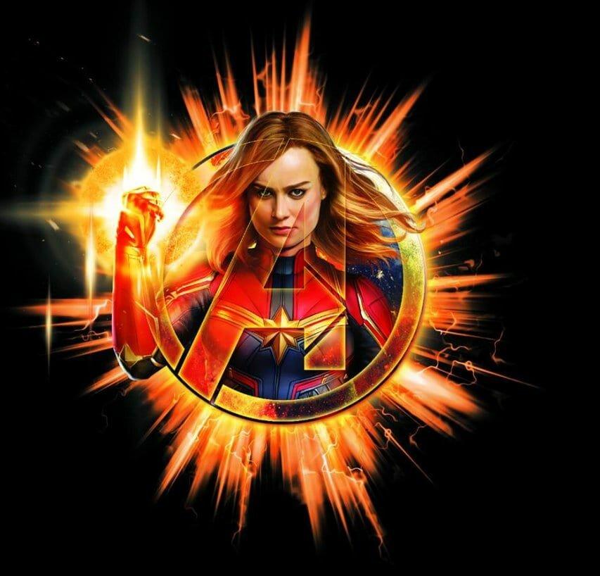 Промоарт к фильму «Мстители: Финал»