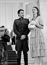 Пара влюбленных из 1940-х годов
