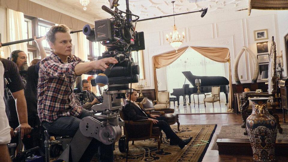 Шон Портер на съемках фильма «Зеленая книга»