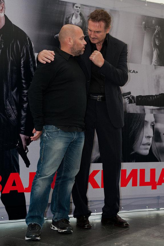 Оливье Мегатон и Лиам Нисон