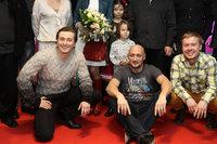 Сергей Безруков, Гоша Куценко и Антон Богданов