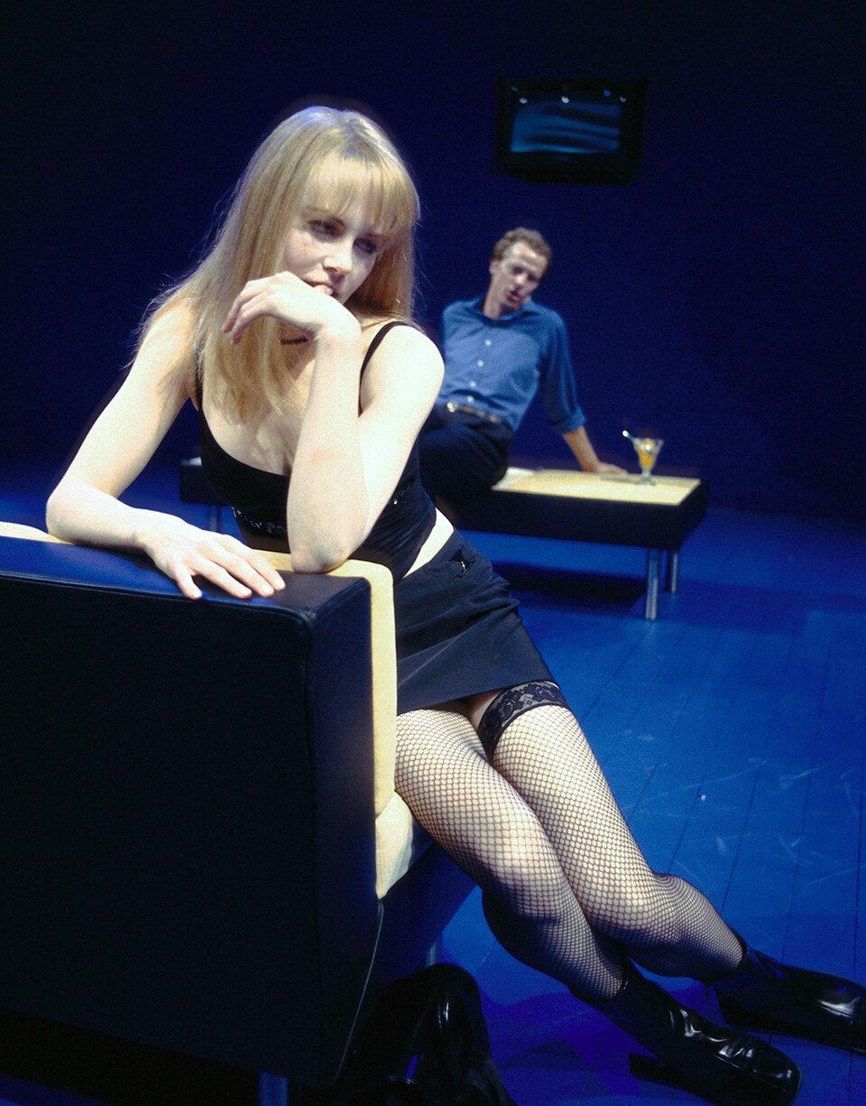 Николь Кидман в спектакле «Синяя комната» / Фото: Getty Imagws