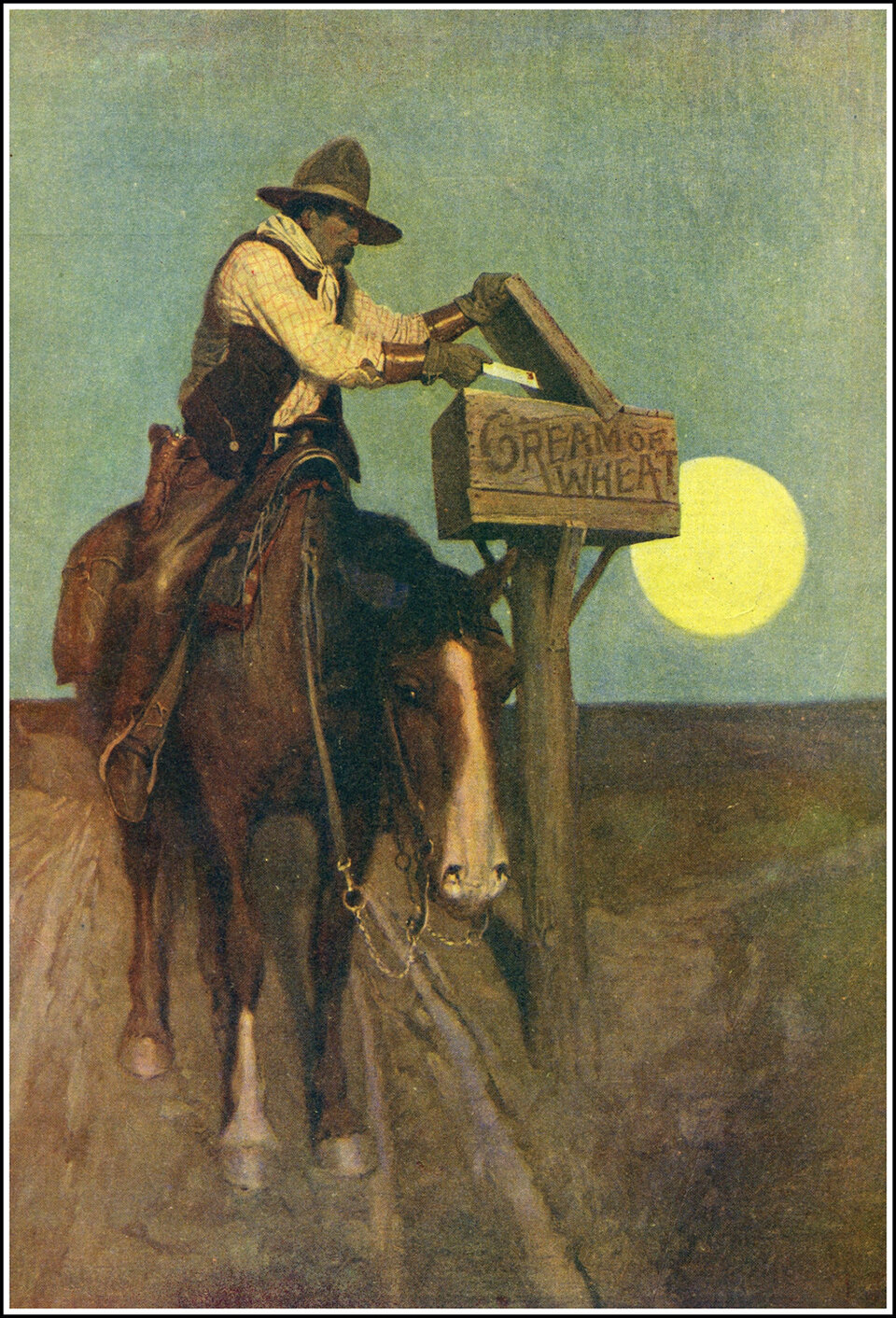 Иллюстрация Н. К. Уайета