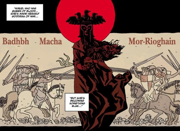 Кровавая королева в комиксах Майка Миньолы