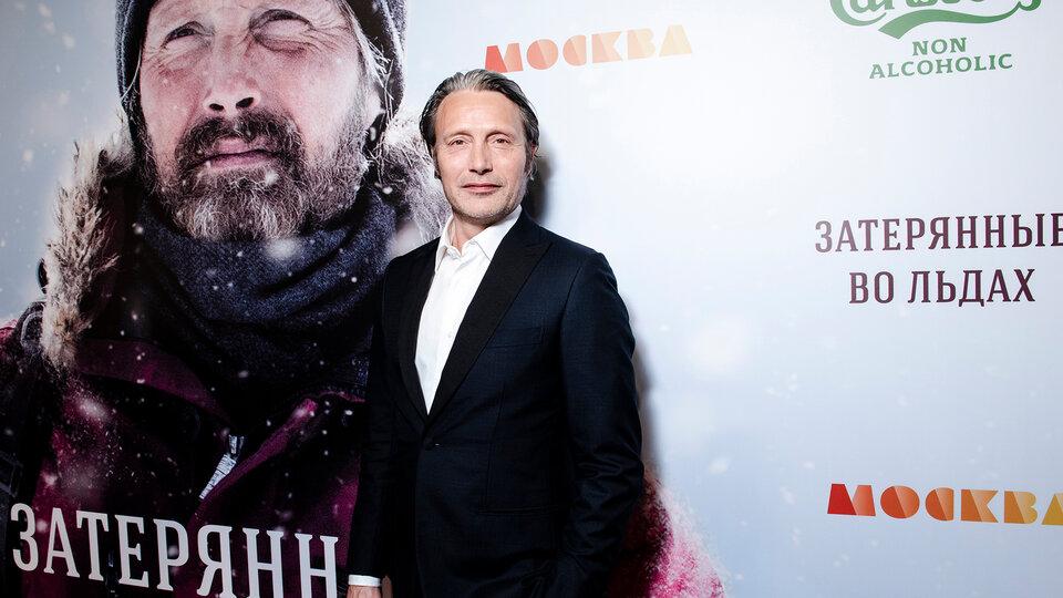 Мадс Миккельсен на премьере фильма в Москве / Фото: Элен Нелидова для КиноПоиска