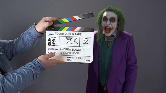 Томми Вайсо записал пробу в образе Джокера