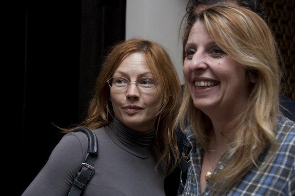 Алена Бабенко и Кристель Вержад