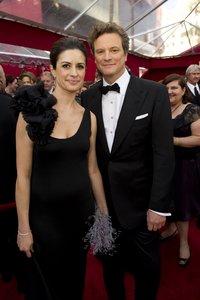 Колин Ферт и его супруга Ливия Джиуджиолли
