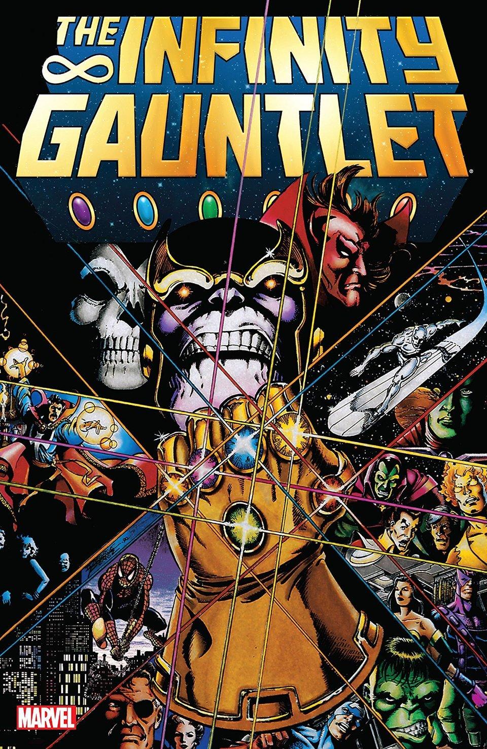Обложка комикса «Танос: Перчатка Бесконечности»/ Иллюстрация: Marvel Comics