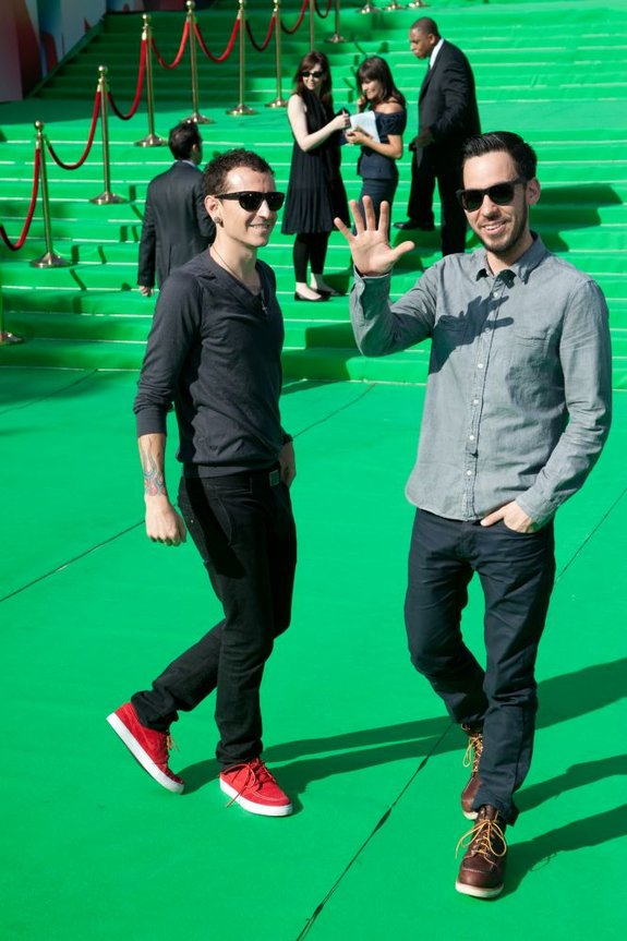 Честер Беннингтон и Майк Шинода (Linkin Park)