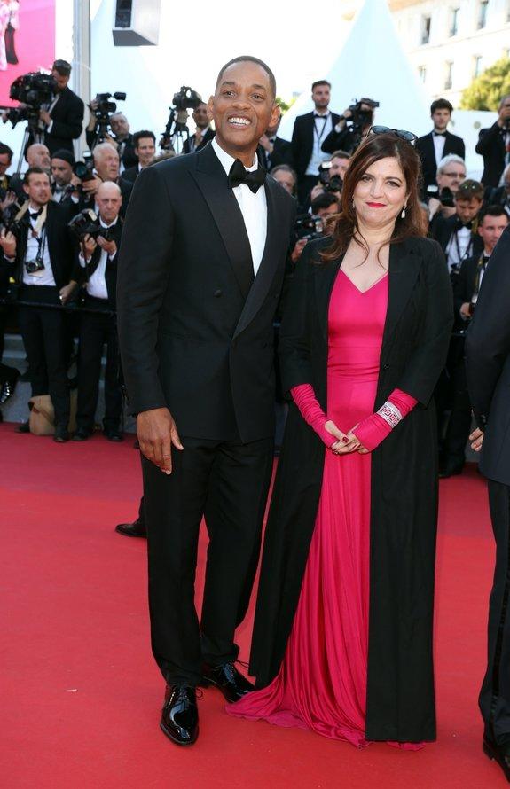 Уилл Смит и Аньес Жауи / Фото: Getty Images