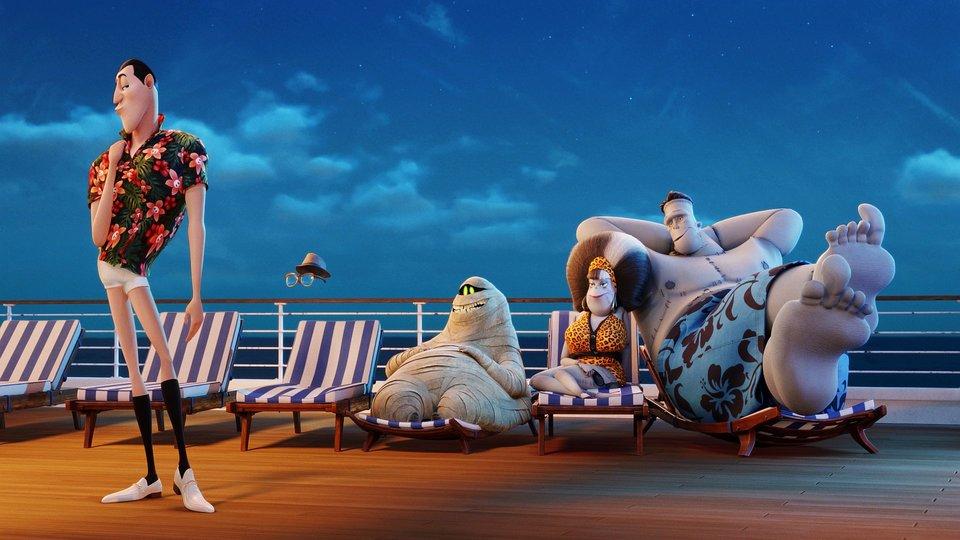 «Монстры наканикулах 3: Море зовет»