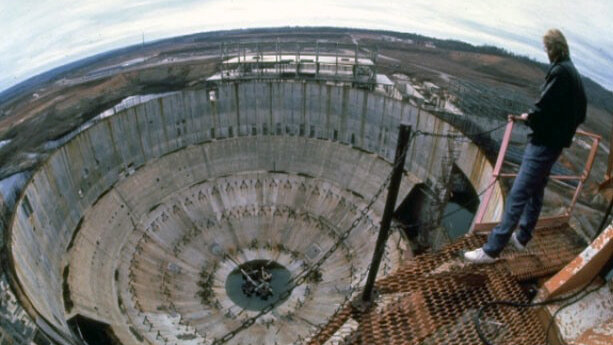 Заброшенная электростанция в Гаффни, где снимали «Бездну»