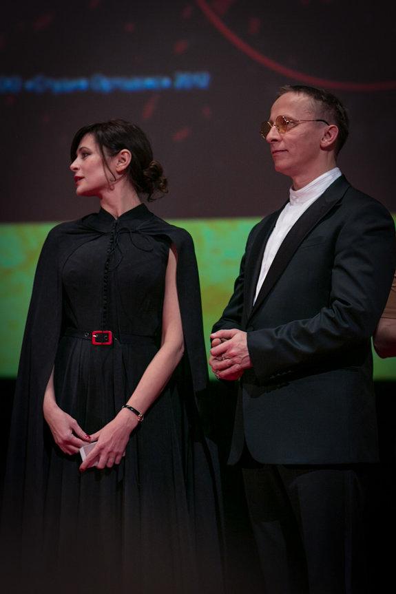 Оксана Фандера и Иван Охлобыстин