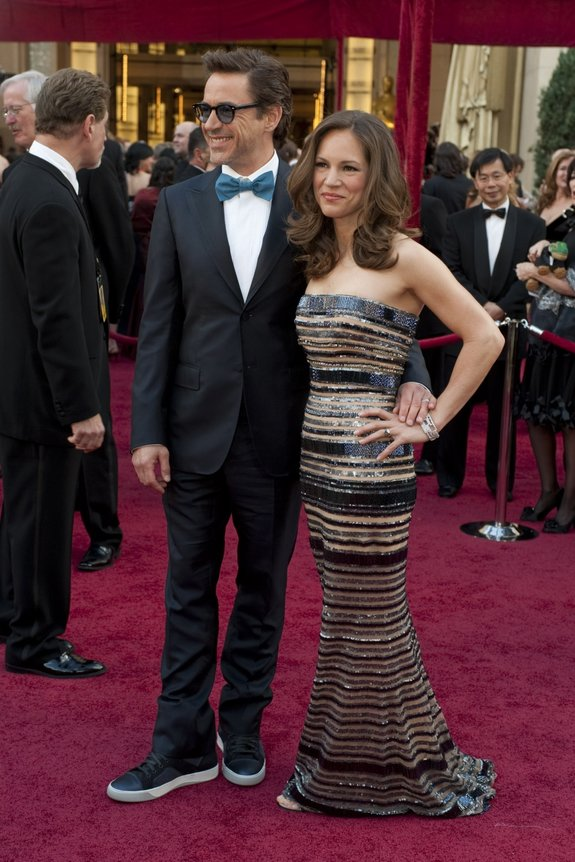Роберт Дауни мл. с женой