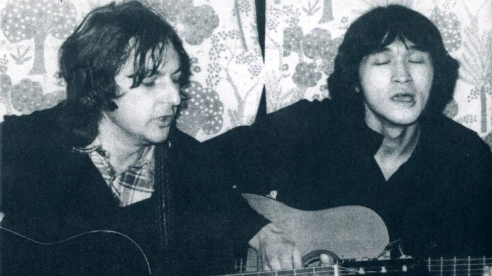 Майк Науменко и Виктор Цой