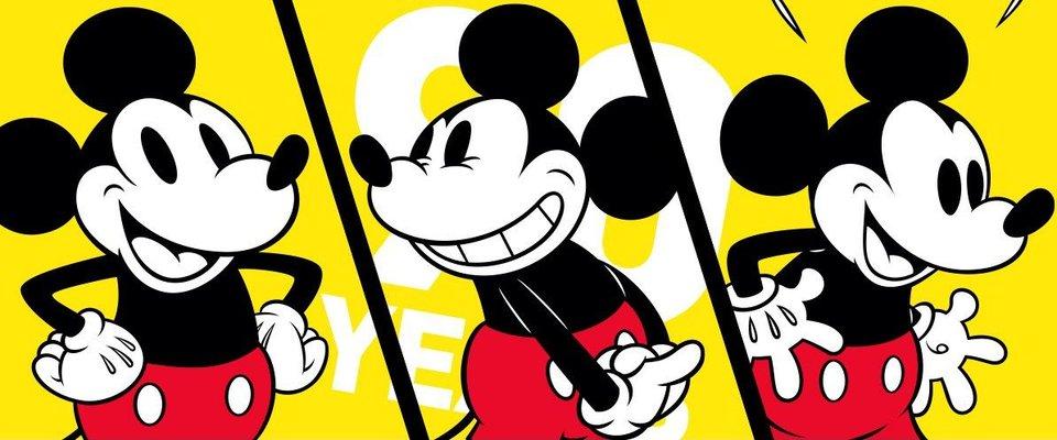 Фрагмент рекламной кампании Disney к 90-летию Микки Мауса