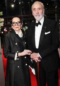 Кристофер Ли с женой