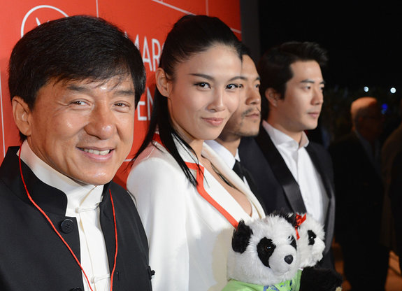 Джеки Чан на открытии кинорынка