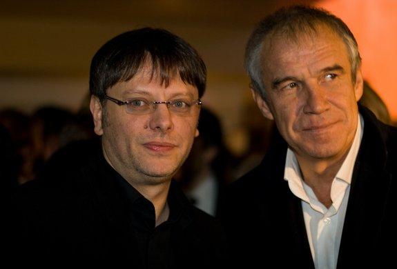 Валерий Тодоровский и Сергей Гармаш