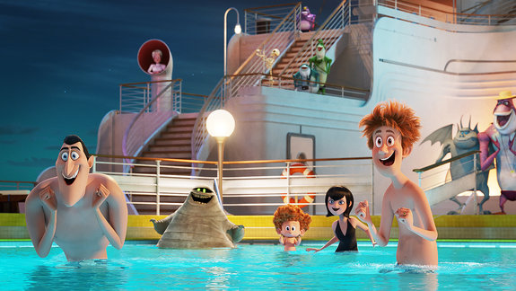 «Монстры на каникулах 3: Море зовет»