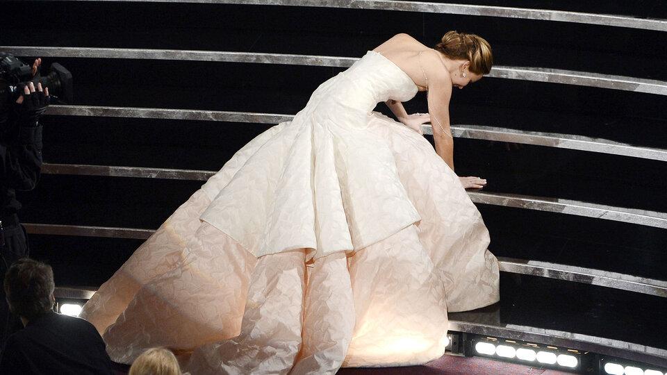 Дженнифер Лоуренс на «Оскаре-2013» / Фото: Getty Images