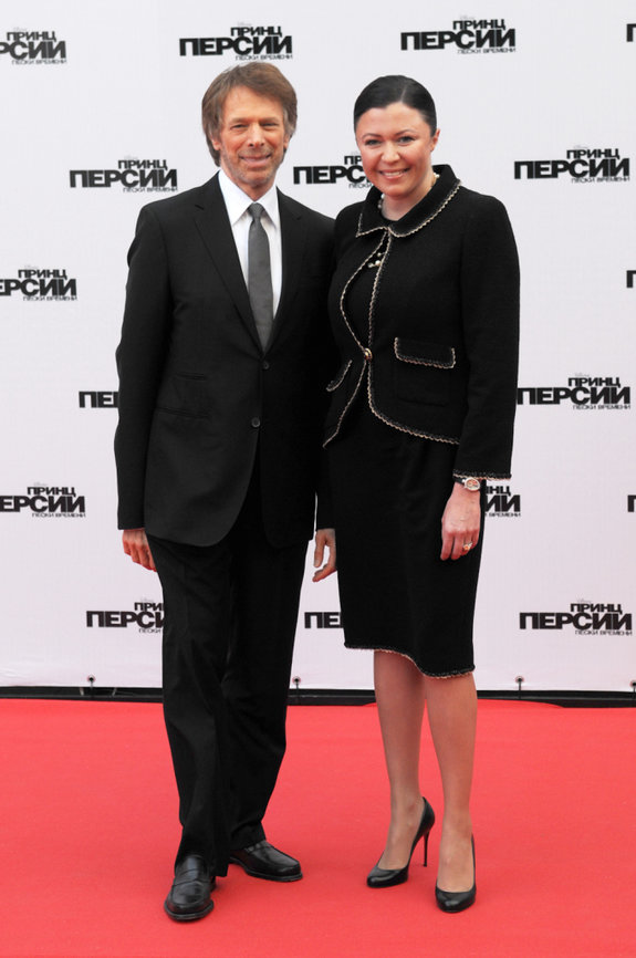 Джерри Брукхаймер и Марина Жигалова-Озкан